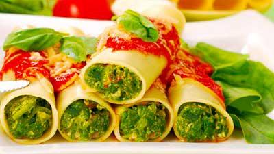 Обычно Итальянская еда калорийна, насыщена вкусом