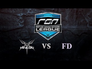 AMD.Mineski vs First Departure @ Rapture Gaming Network League