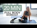 20 MIN FULL BODY WORKOUT No Equipment Pamela Rf