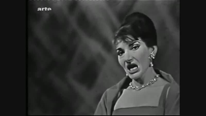 Maria Callas Una Voce Poco Fa Barbiere di Siviglia G Rossini 360p