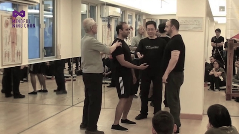 Wing Chun Power development - simultaneous joint movements