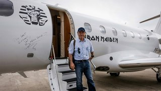Iron Maiden's Bruce Dickinson Has a Few Things to Say about Embraer's Legacy 500 – BJT