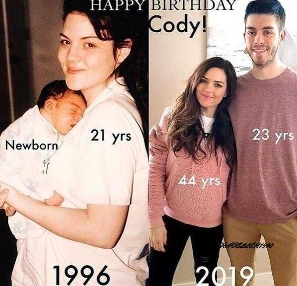 С каждым годом все лучше и лучше, несмотря на то, что родила 7-х детей????