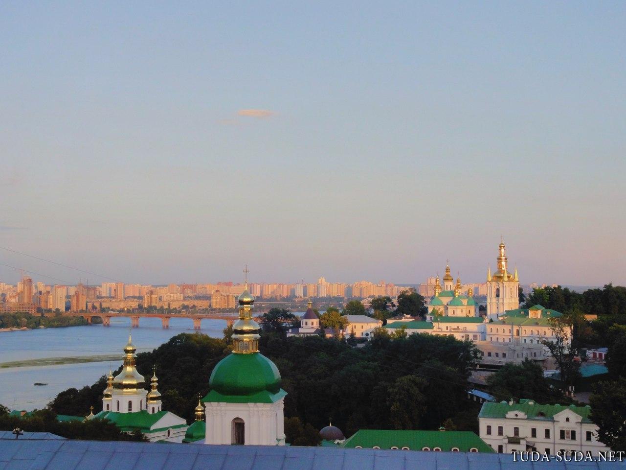 Смотровая площадка Киево-Печерская лавра