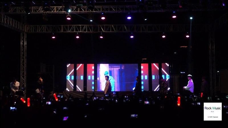 아이콘 iKON 벌떼 (B-DAY)[4K직캠],국제대 축제@180511 락뮤직