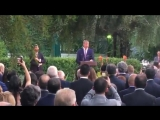 Part of Williams speech at the ambassadors residence..mp4