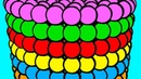 Learn Colors Развивающие Раскраски для детей Учим Цвета на Английском