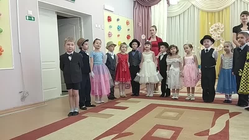 поздравления с 8 марта детский сад