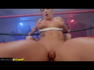 Markus Dupree & Cali Carter [ Anal / Cumshot on ass, Wrestling and wrestling, Between boobs, Ass]