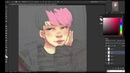 [Speedpaint] BTS Fanart Park Jimin