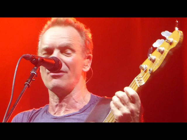 Sting - Roxanne with Ain't no sunshine [ Zurich Zürich 30 - 3 - 2017 ]