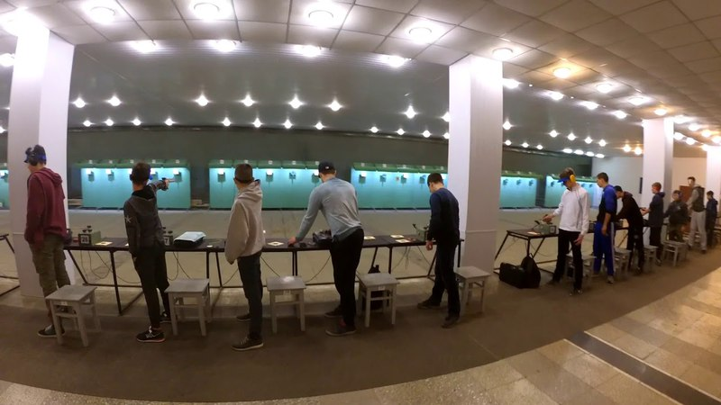 Чемпіонат України - 2018 з кульової стрільби, серед ДЮСШ, вправа ПП 3 ч.