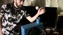 Закон Бернулли в действии Шарик для пинг понга зависший в воздухе