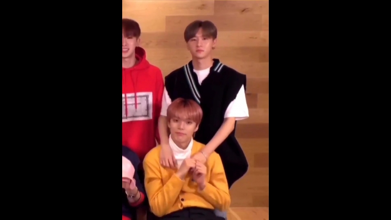 I'm so soft look at the way changkyun had his arms around minhyuk the entire time