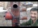 Печь на отработанном масле с принудительным наддувом с газовых балонов