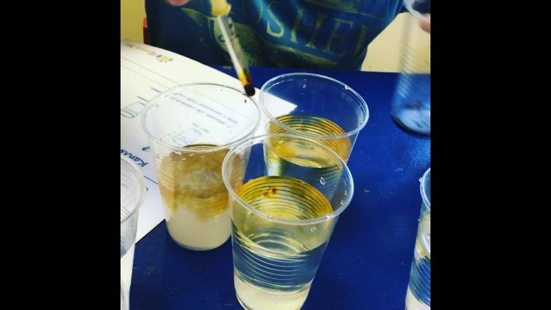 Курс «Я - Исследователь» - определение вещества в воде.