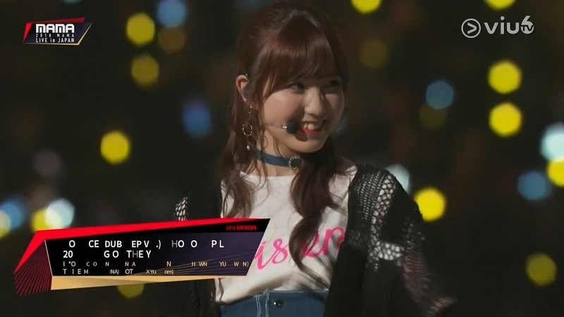 [Live] Hot! IZONE Twice GOT7 Monsta X MaMa Asia Mucic Awards in Japan