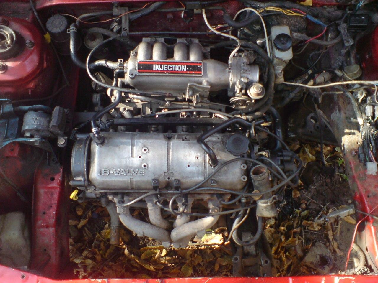 mazda 323 1986 двигатель e5