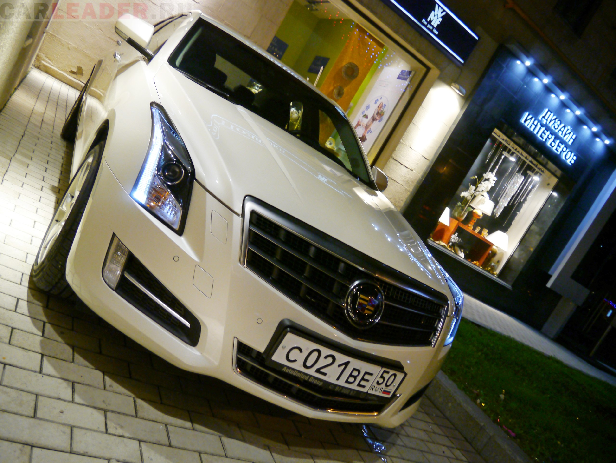 Cadillac ATS Zolnikova Natalia