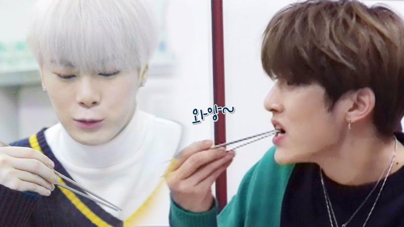 [06.12.2018] JinJin Moonbin (ASTRO) @ SBS Baek Jong Won's Alley Restaurants