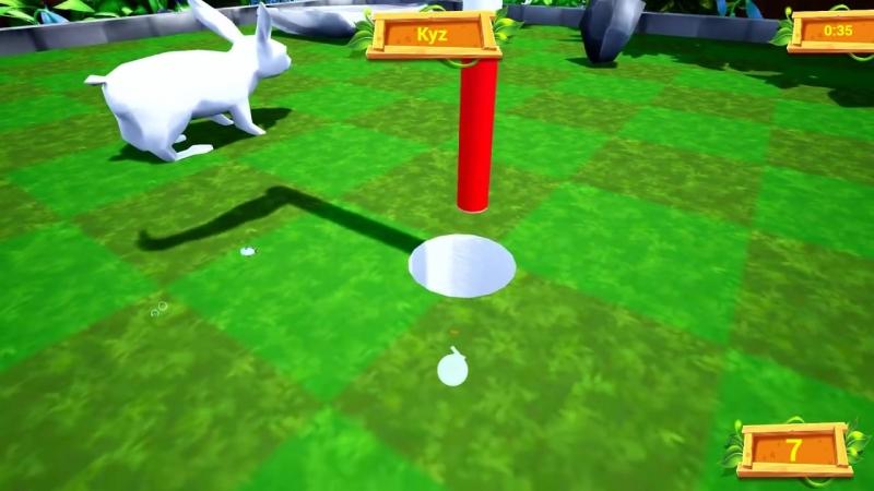 [OVER SHOW] 1 ПОПЫТКА, ЧТОБЫ ПОПАСТЬ ЛУНКУ! ЧУДОМ НЕ УПАЛИ ВНИЗ И ПРОШЛИ СЛОЖНУЮ ЛОВУШКУ В ГОЛЬФ ИТ (Golf It)