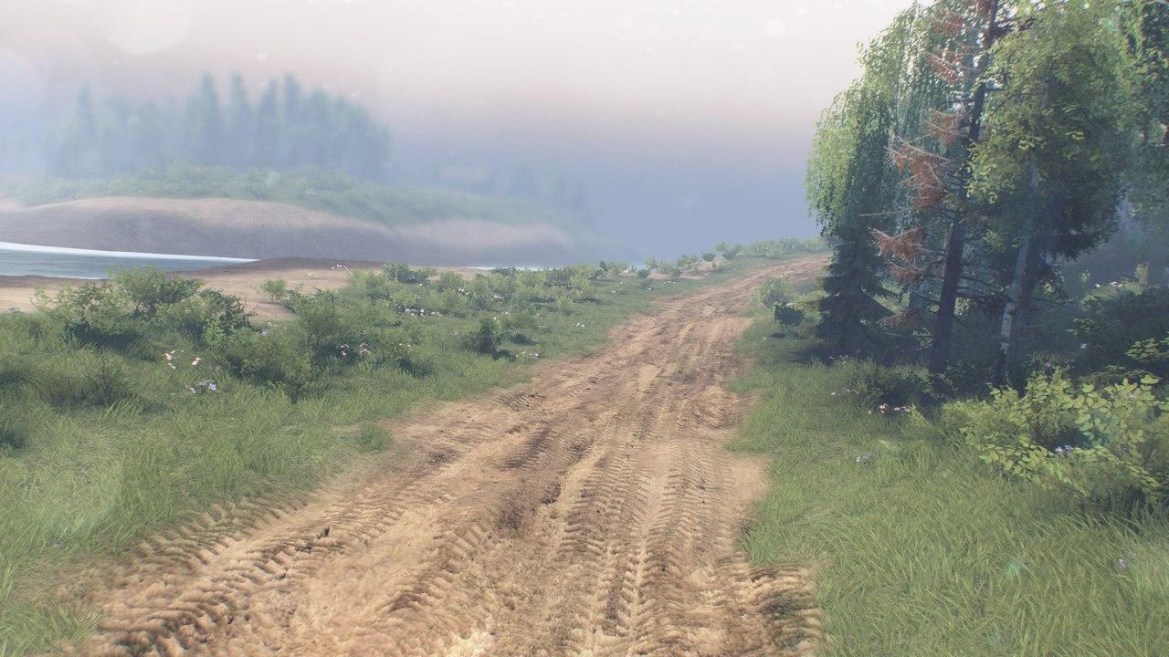 """Карта """" На холм """" для 25.12.15 для Spintires - Скриншот 2"""