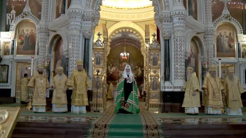 Проповедь Патриарха Кирилла в Неделю 35-ю по Пятидесятнице, отдание праздника Богоявления