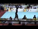 Анастасия Дмитриева (вольные) Gymnasiade 2013_Anatasia Dmitrieva (RUS) Solo_Elissa Downie (GBR)Trave_Qualificatorias