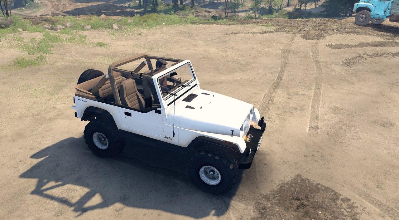 Jeep Wrangler для Spintires - Скриншот 1