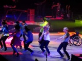 Safety Dance - Kevin McHale (with Darren Criss dancing) - O2 Arena, London 29 June 2011