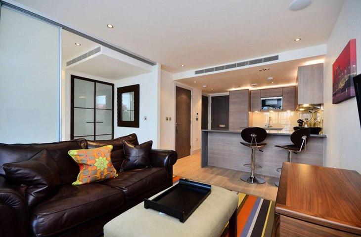 Квартира-студия 36 м в Лондоне / Англия - http://kvartirastudio.