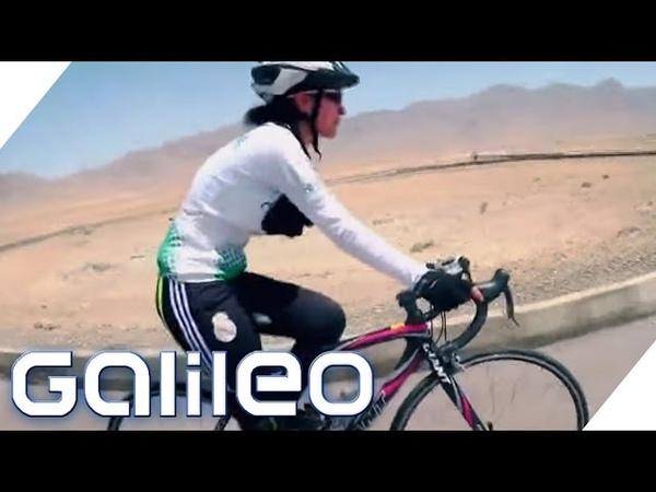 Diese afghanischen Frauen machen Revolution auf Rädern   Galileo   ProSieben