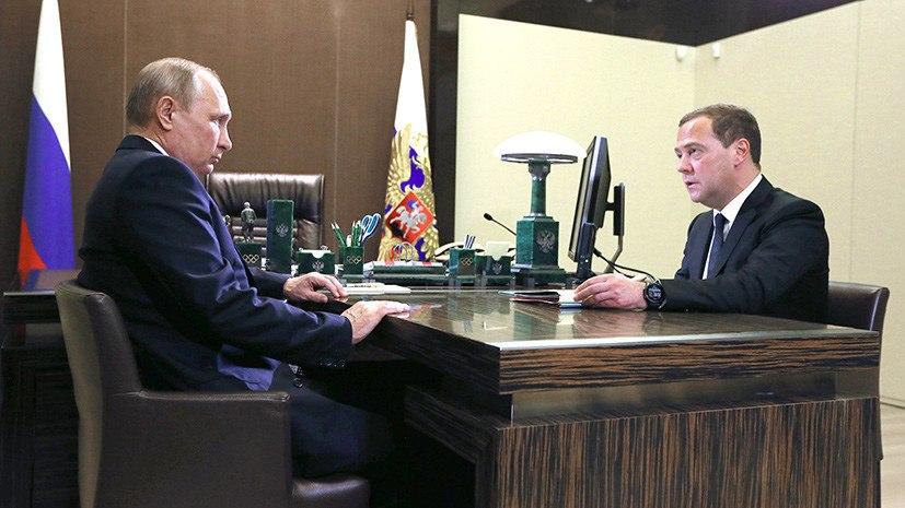 Путин подписал указы по новому правительству