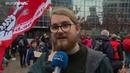 Экологическая акция собрала десятки тысяч людей в Брюсселе