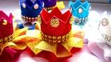 Корона для принцессы из фоамирана и лент своими руками