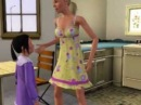 Sims 3 Molly's Story; Child abuse