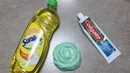 Dish Soap and Colgate Toothpaste Slime!!How to Make Slime Soap Salt and Toothpaste!!Must Watch