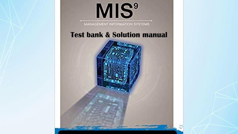 MIS 9th Edition