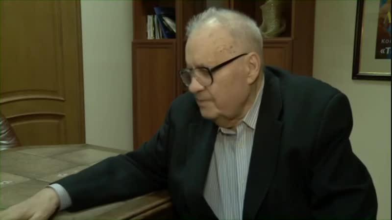 Интервью Эльдара Александровича Рязанова после концерта цыганского шоу театра Табор возвращается