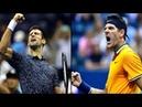 Novak Djokovic │Juan martin Del Potro │ 2018