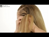 Rope Twist French Braid Ponytail - Sam Villa