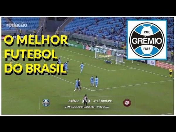 O melhor jogo do Brasileiro Grêmio e Atlético com 68% de bola rolando Debate elogia